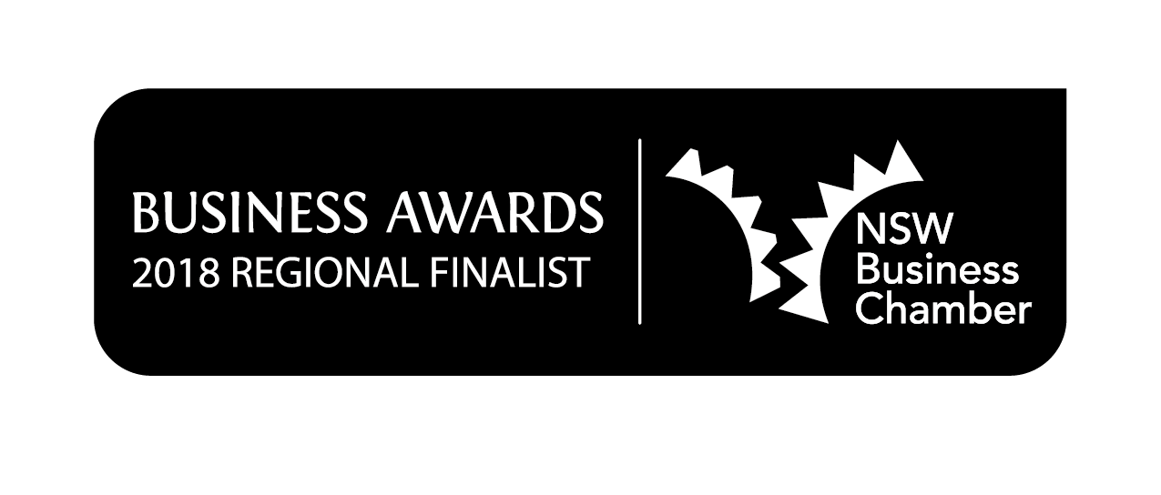 2017 and 2018 Regional Finalist (Young Entrepreneur), NSW Business Awards