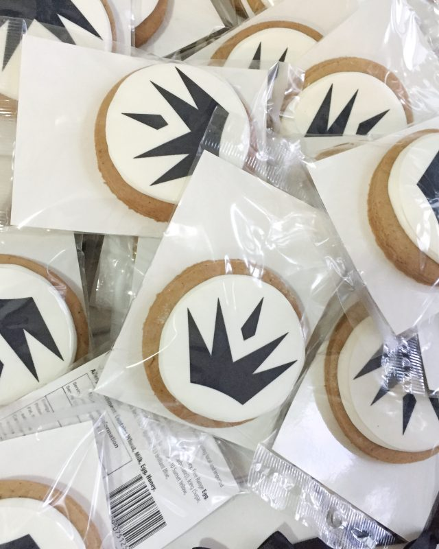 Custom Gingerbread Cookies with logo