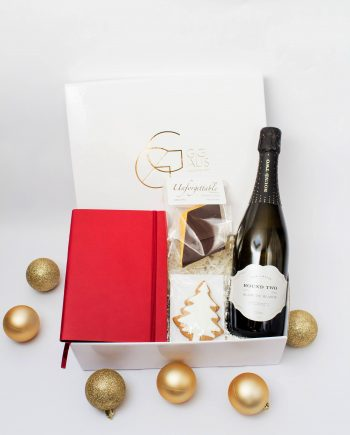 corporate chic hamper_red notebook